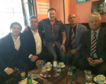 """Pred odhodom v Kranj še kavica z lastnikom bara """"Cokla"""" v centru Tržiča"""