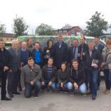 Gasilska fotografija s kandidati SDS v Krškem