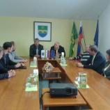 V Škocjanu z županom Jožetom Kaplerjem o aktualnih lokalnih problematikah