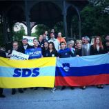 Z delegacijo YEPP na Bledu.